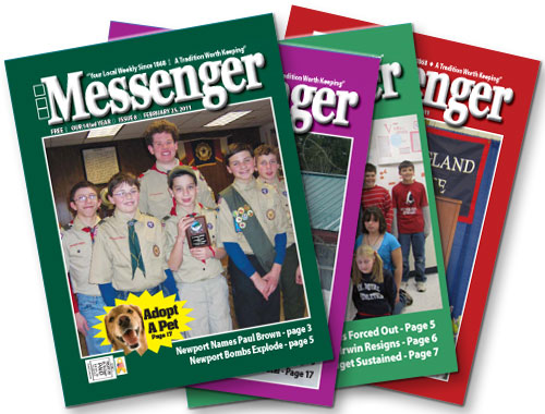 The Messenger - fanned covers