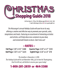 Holiday Guide Rate Sheet