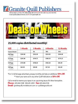 View Deals on Wheels Rates & Distribution