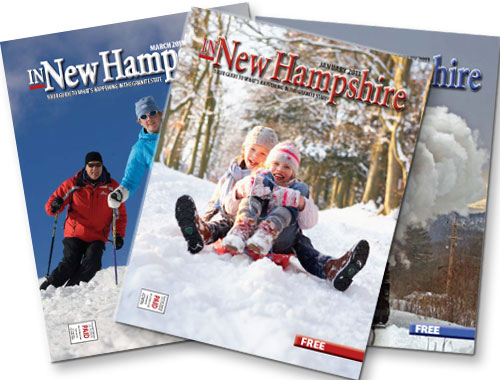 In New Hampshire - fanned covers