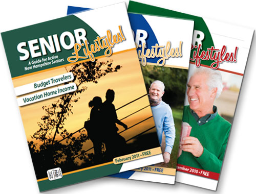 Senior Lifestyles - fanned covers