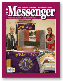 The Messenger March 4, 2011 Cover