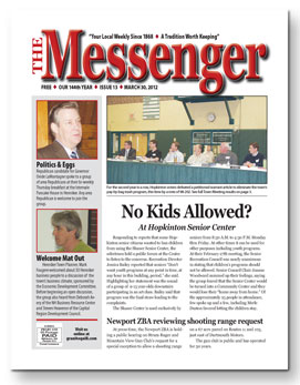 Download The Messenger - March 30, 2012 (pdf)