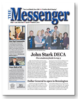 Download The Messenger - March 2, 2012 (pdf)