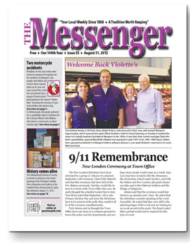 Download The Messenger - August 31, 2012 (pdf)