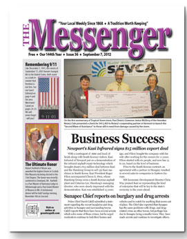Download The Messenger - September 7, 2012 (pdf)