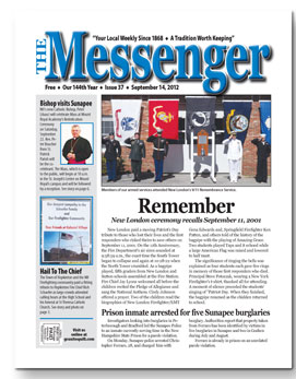 Download The Messenger - Sept. 14, 2012 (pdf)
