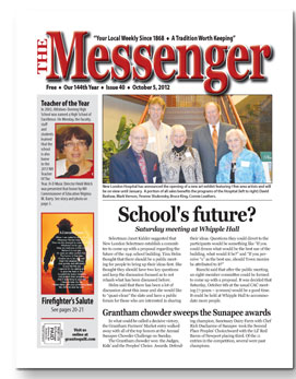 Download The Messenger - October 5, 2012 (pdf)
