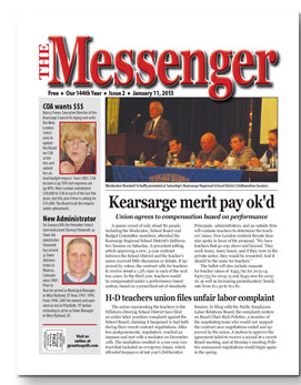 Download The Messenger - Jan. 11, 2013 (pdf)