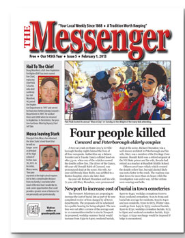 Download The Messenger - Feb. 1, 2013 (pdf)