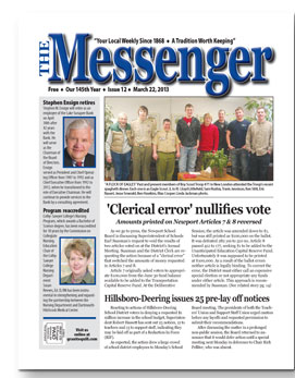 Download The Messenger - March 22, 2013 (pdf)