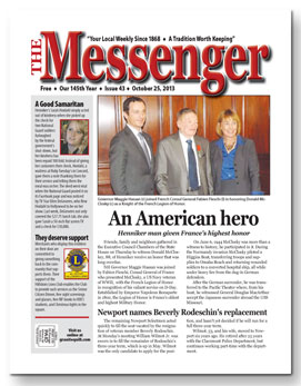 Download The Messenger - Oct. 25, 2013 (pdf)