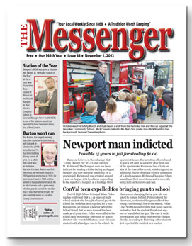 Download The Messenger - Nov. 1, 2013 (pdf)