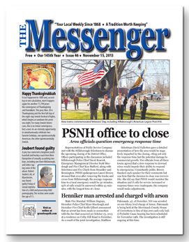 Download The Messenger - Nov. 15, 2013 (pdf)