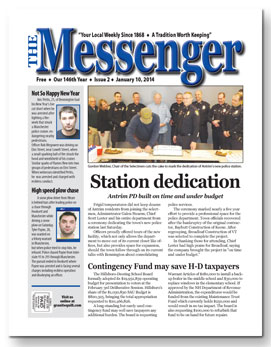 Download The Messenger - Jan. 10, 2014 (pdf)