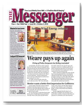 Download Te Messenger - Oct. 3, 2014 (pdf)