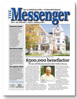 Download The Messenger - Jan. 9, 2014 (pdf)