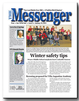 Download The Messenger - Jan. 16, 2015 (pdf)