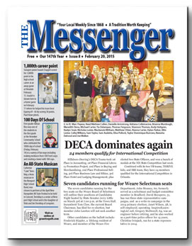 DOwnload The Messenger - Feb. 20, 2015 (pdf)