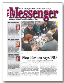 Download The Messenger - March 18, 2016 (pdf)