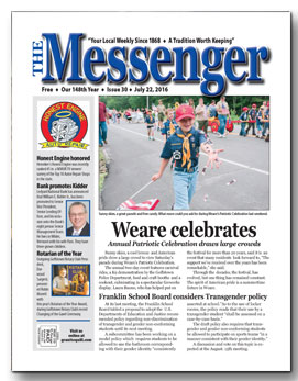 Download The Messenger - July 22, 2016 (pdf)