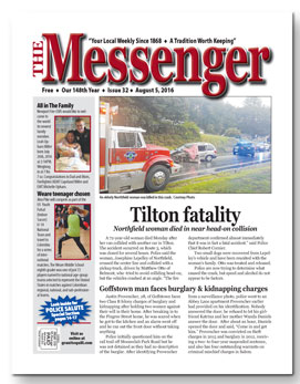 Download The Messenger - August 5, 2016 (pdf)